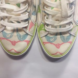 Coach Women's Canvas Sneakers Size 9M